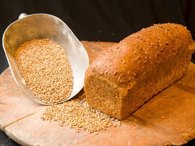 Bruin busbrood