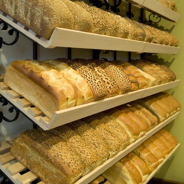 Vele soorten brood elke dag vers gebakken!