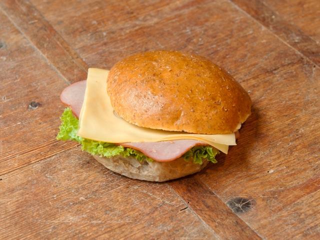 Broodje ham kaas 1,75 euro