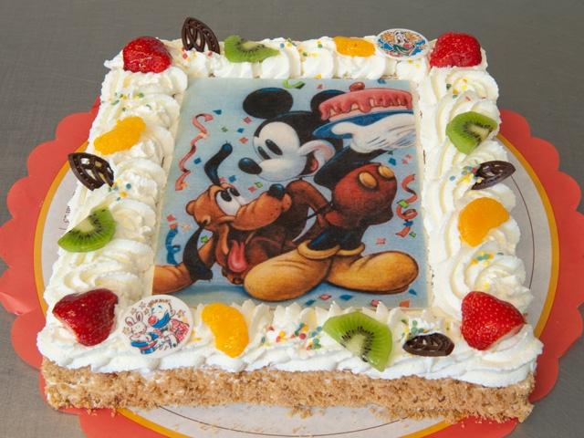 Fototaart Disney