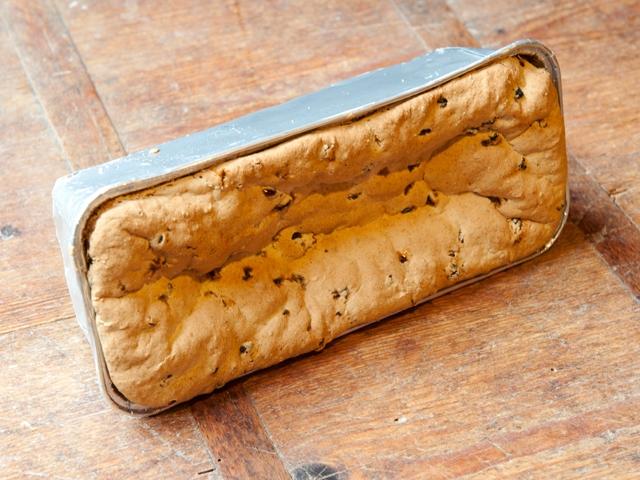 Glutenvrij krentenbrood 3,50 euro