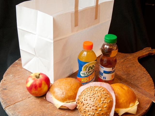 Lunchpakket zelf samen te stellen